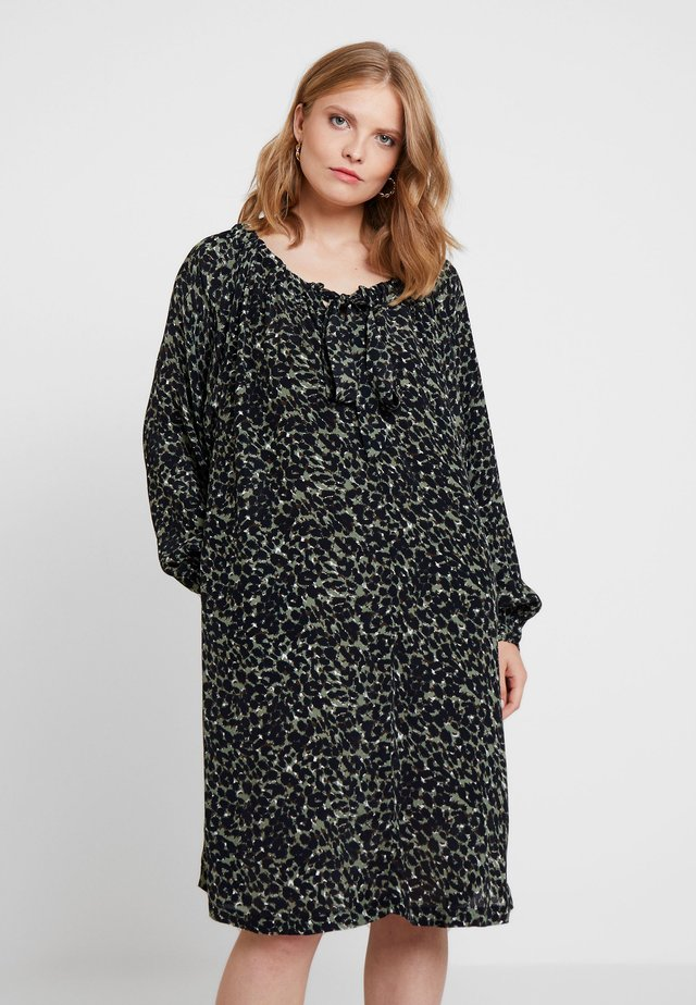 NOOR DRESS - Robe d'été - khaki