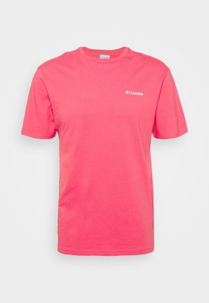 NORTH CASCADES SHORT SLEEVE - Print T-shirt - bright geranium