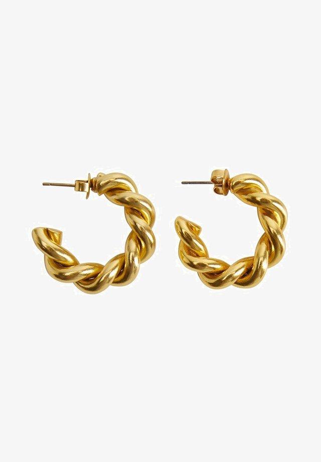 KURT - Earrings - gold