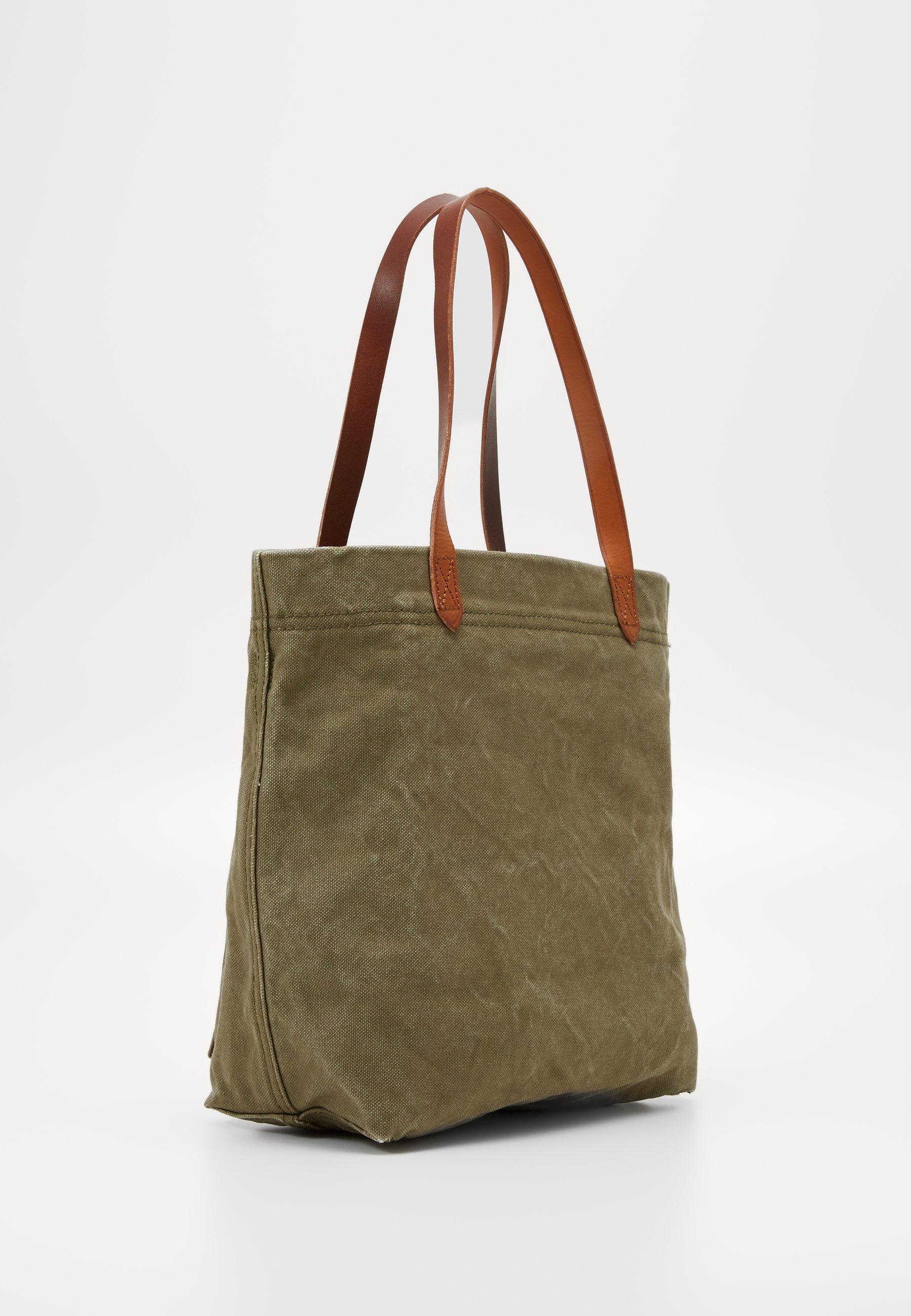 Madewell The Medium Transport Tote - Shopping Bag British Surplus/khaki