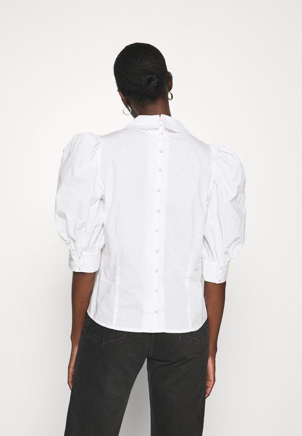 Custommade DUNYA - Bluzka - bright white/biały NUWK