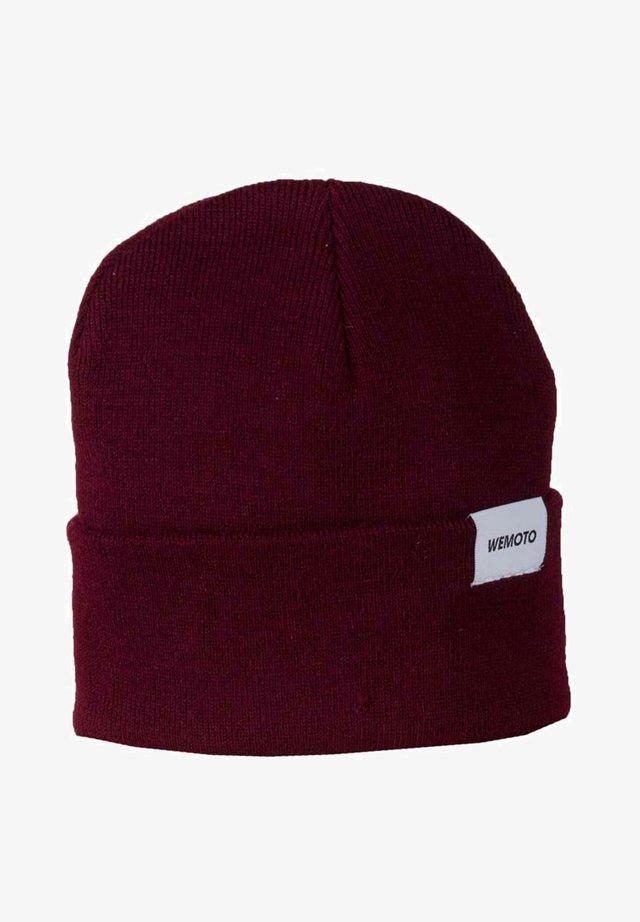 NORTH - Beanie - burgundy