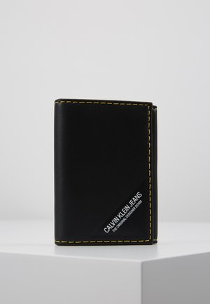 SMOOTH STITCH CARD CASE - Portafoglio - black