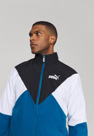 RETRO TRACKSUIT - Trainingsanzug - digi-blue