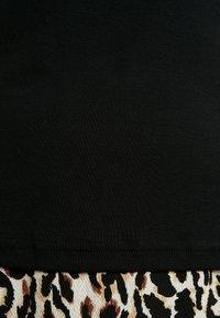 Lauren Ralph Lauren Woman - JUDY ELBOW SLEEVE - Basic T-shirt - black - 5