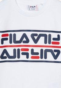 Fila - SALMAN - T-shirt print - bright white - 3