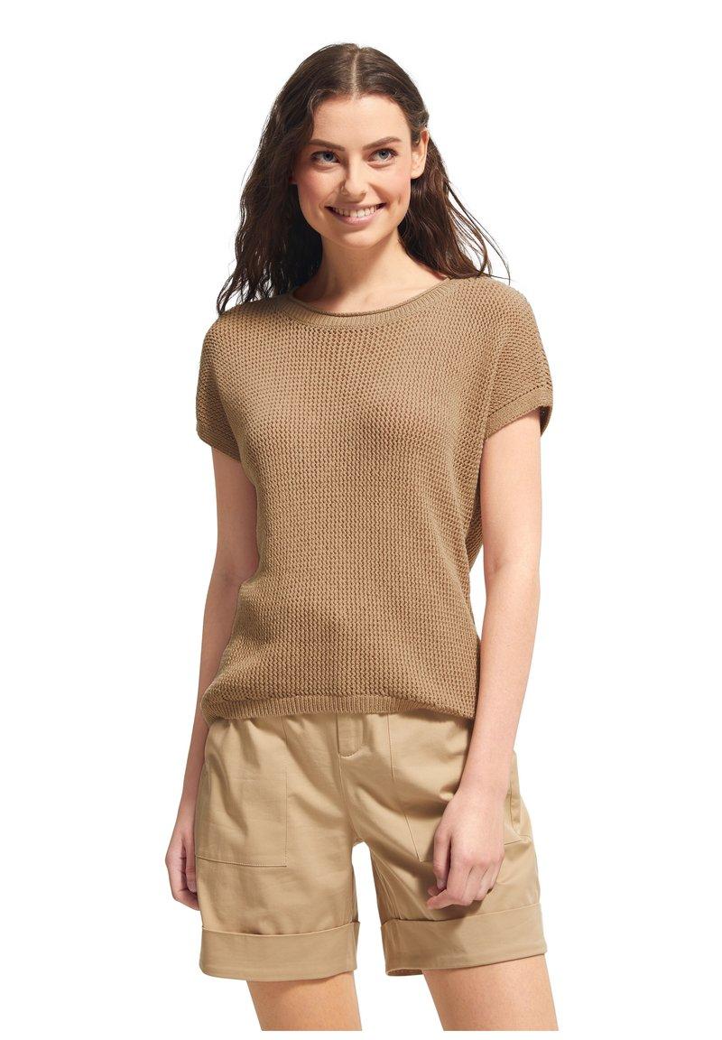 comma casual identity - Print T-shirt - sand