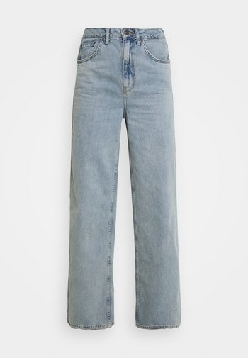 EMBROIDERED PUDDLE  - Jeans relaxed fit - summer vintage
