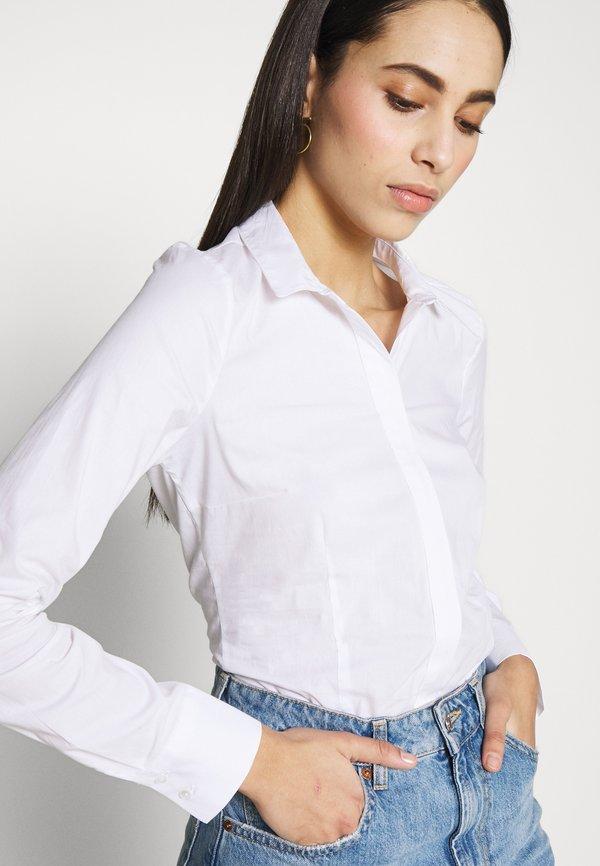 ONLY Tall ONLSELMA BODY - Koszula - white/biały RHIU