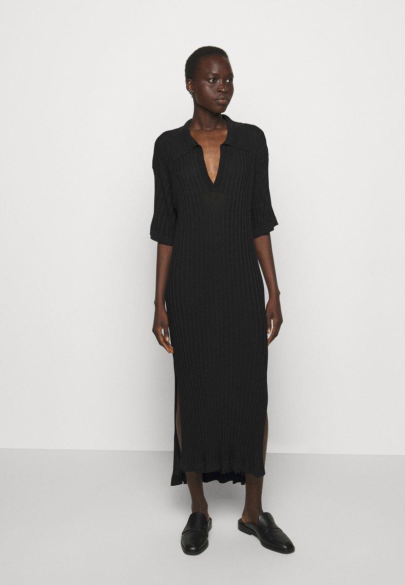 House of Dagmar - BEATRIZ - Jumper dress - black