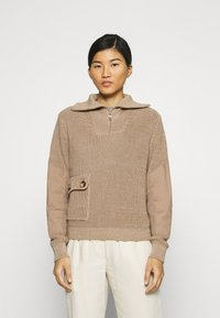 Another-Label - DARA - Pullover - sand melee - 0