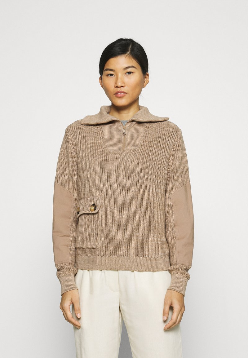 Another-Label - DARA - Pullover - sand melee