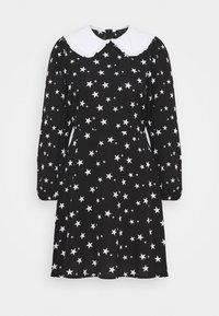 New Look - SADIE STAR COLLAR WAIS - Day dress - black - 4