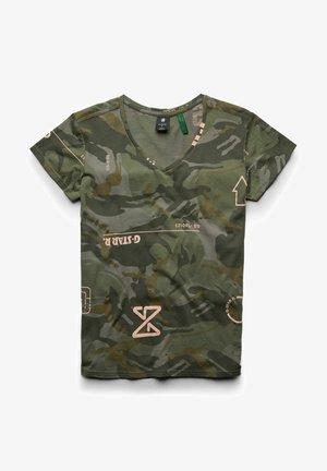 CAMO TYPE - Print T-shirt - camo