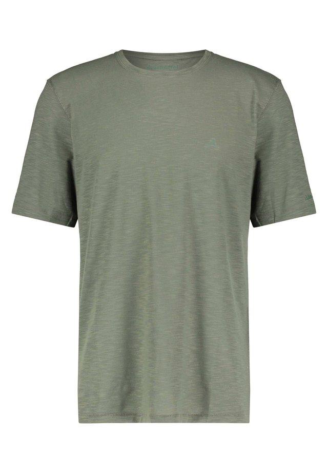 "SCHÖFFEL HERREN T-SHIRT ""MANILA"" - Basic T-shirt - grün (400)"