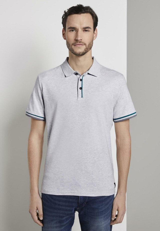 Polo -  white melange