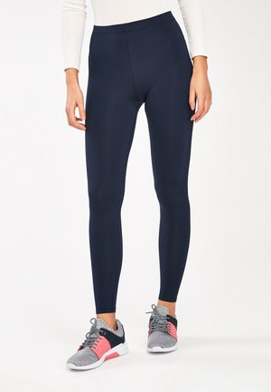 FULL LENGTH LEGGINGS - Leggings - Trousers - blue