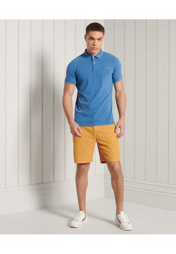 Polo shirt - heraldic blue