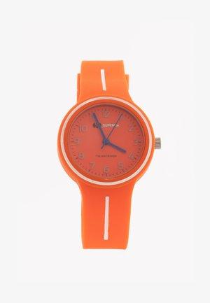 JUNIOR - Horloge - arancione/bianco
