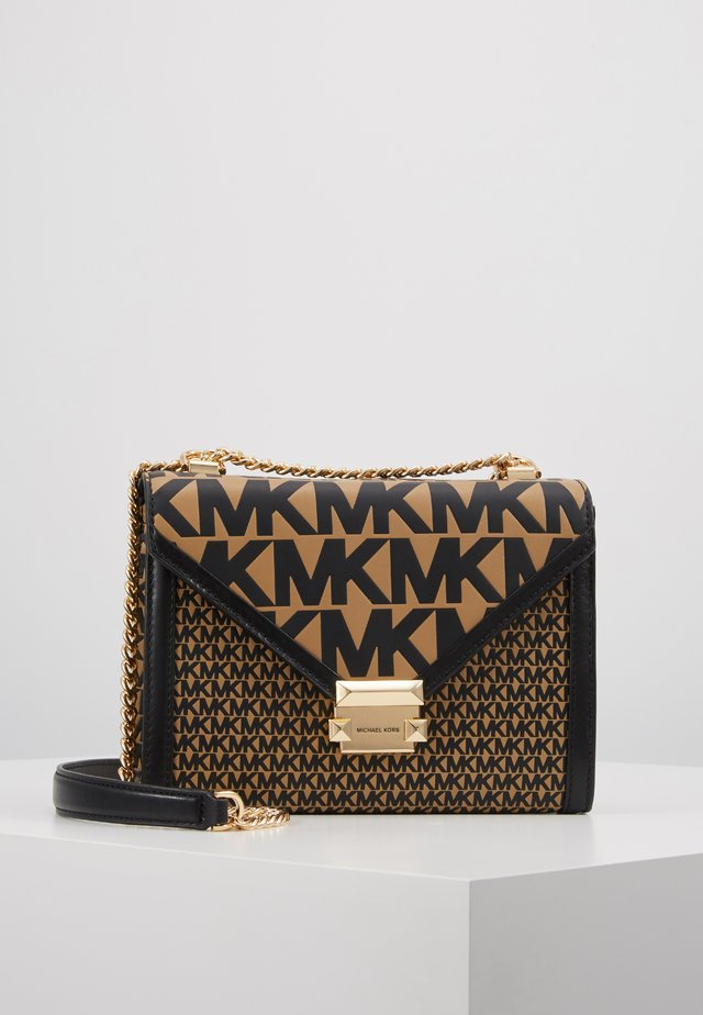 MIXED SCALE PRINTED WHITNEY  - Handtas - brown / black