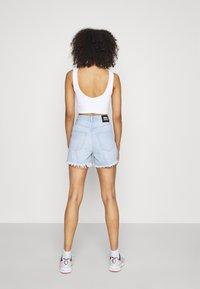 Dr.Denim - NORA - Denim shorts - superlight blue - 2