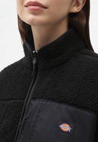 Dickies - CHUTE  - Fleece jacket - black - 4