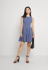 WAL G. - NICOLA SKATER DRESS - Jersey dress - indigo blue - 1