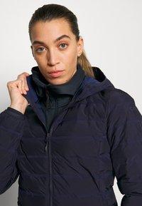CMP - WOMAN JACKET FIX HOOD - Outdoor jakke - dark blue - 3