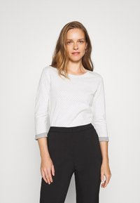 Esprit - Maglietta a manica lunga - off-white - 0