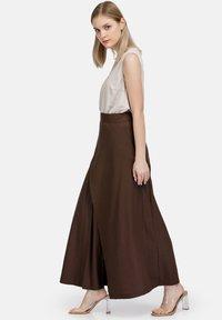 HELMIDGE - Maxi skirt - braun - 1