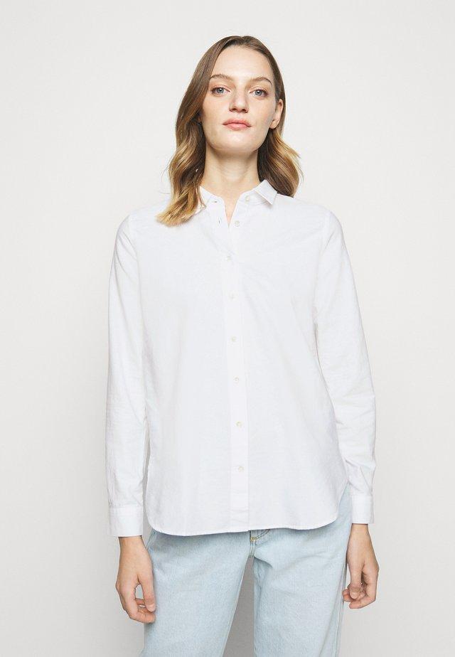 DEVIN - Button-down blouse - white