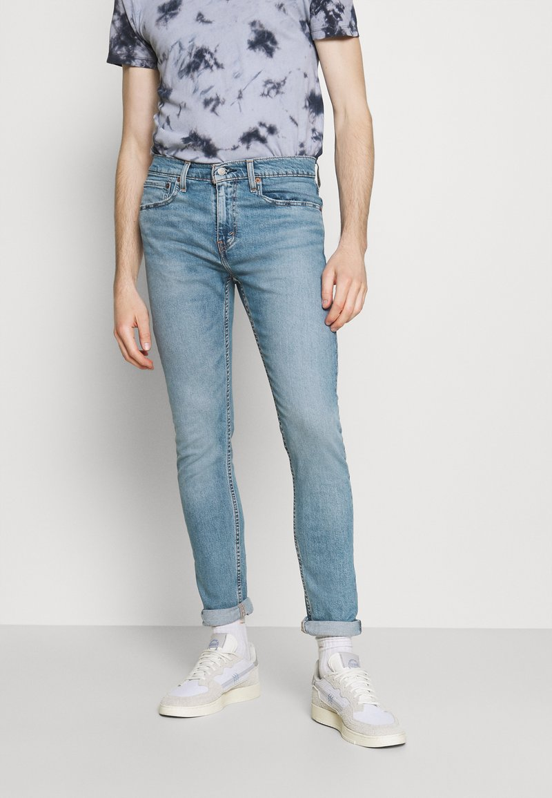 Levi's® - 512™ SLIM TAPER LO BALL - Slim fit jeans - light blue denim