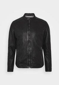 FREDERIC - Leather jacket - noir