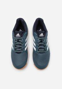 adidas Performance - SPEEDCOURT INDOOR SPORTS - Zapatillas de voleibol - legend blue/footwear white/legend ink - 3