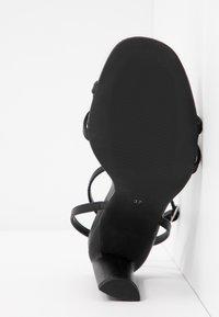 Even&Odd - Sandaler med høye hæler - black - 6