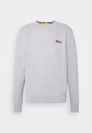 LACOSTE X NATIONAL GEOGRAPHIC - Mikina - silver chine