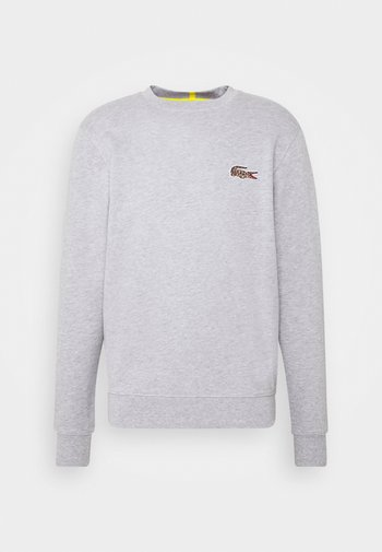 LACOSTE X NATIONAL GEOGRAPHIC - Sweatshirt - silver chine