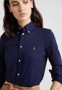 Polo Ralph Lauren - OXFORD - Button-down blouse - cruise navy - 4