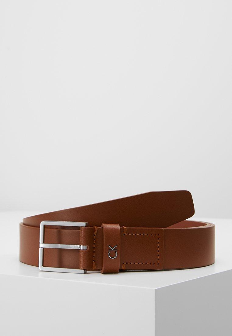 Calvin Klein - FORMAL BELT  - Formální pásek - brown
