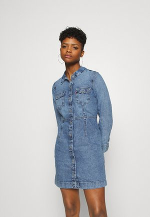 ELLIE DRESS - Denim dress - passing me by