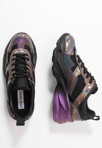 Steve Madden - MOTION - Sneakers - black/multicolor - 3