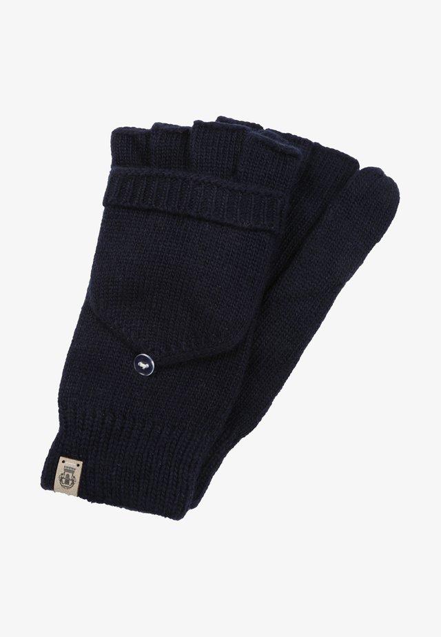 Fingerless gloves - navy