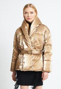 Pinko - GABRIELE COAT - Vinterjakke - beige - 0