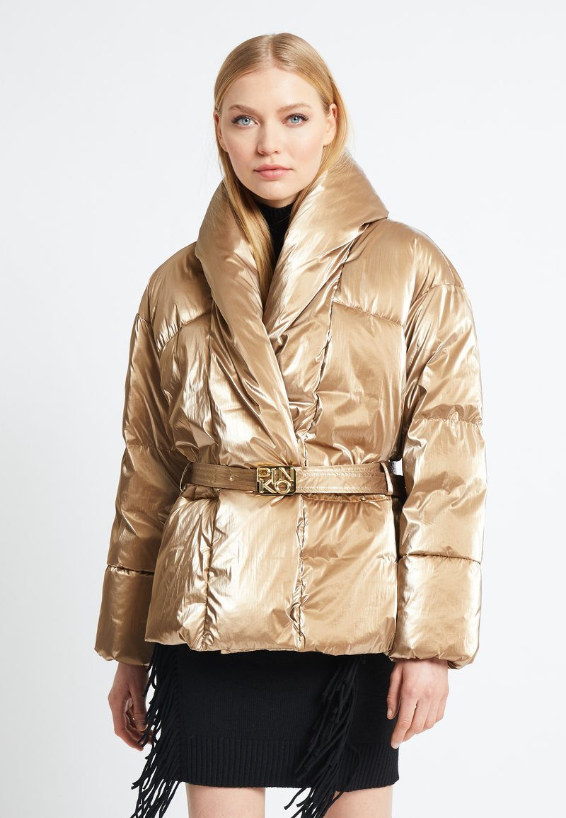 Pinko - GABRIELE COAT - Vinterjakke - beige
