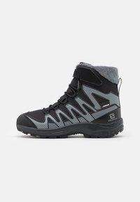 Salomon - XA PRO V8 WINTER CSWP UNISEX - Winter boots - black/phantom/quiet shade - 0