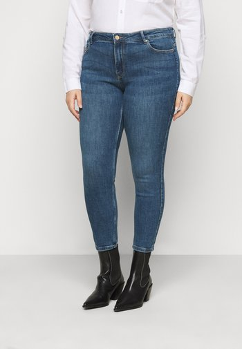 PCLILI - Slim fit jeans - medium blue denim