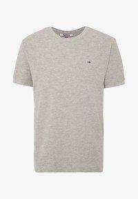 Tommy Jeans - MINI WAFFLE TEE - T-shirt basic - light grey heather - 0