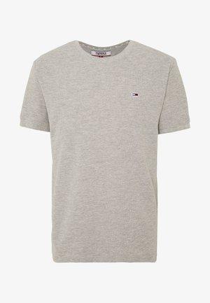 MINI WAFFLE TEE - T-shirt basic - light grey heather