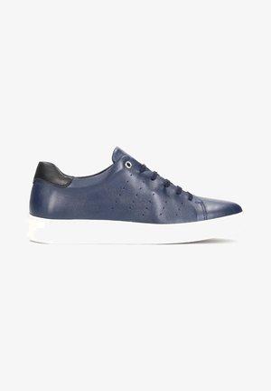 KIEFER - Baskets basses - navy blue
