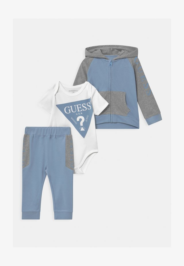 BABY SET UNISEX - Trainingspak - frosted blue